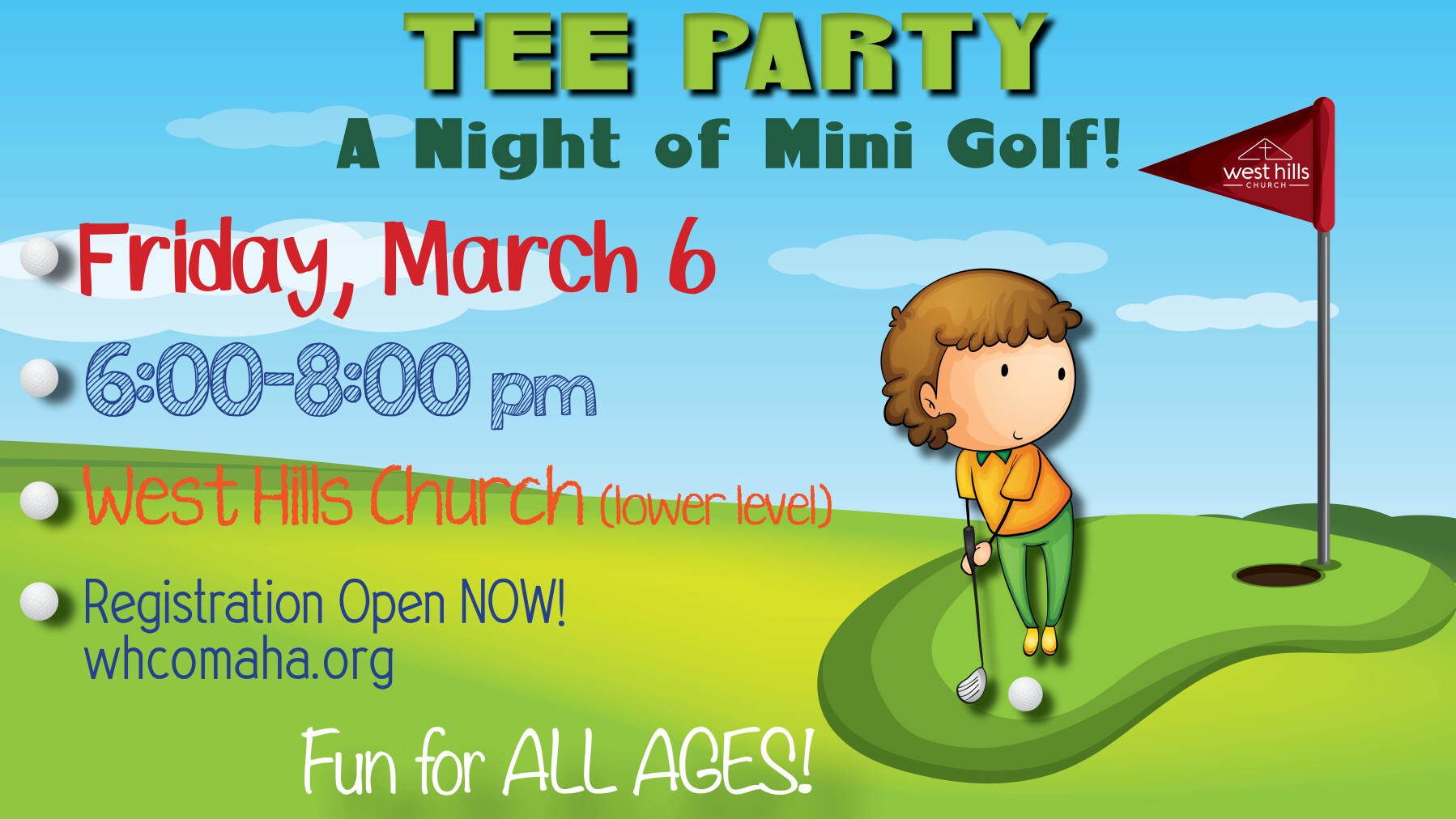 Tee Party - Mini Golf Event