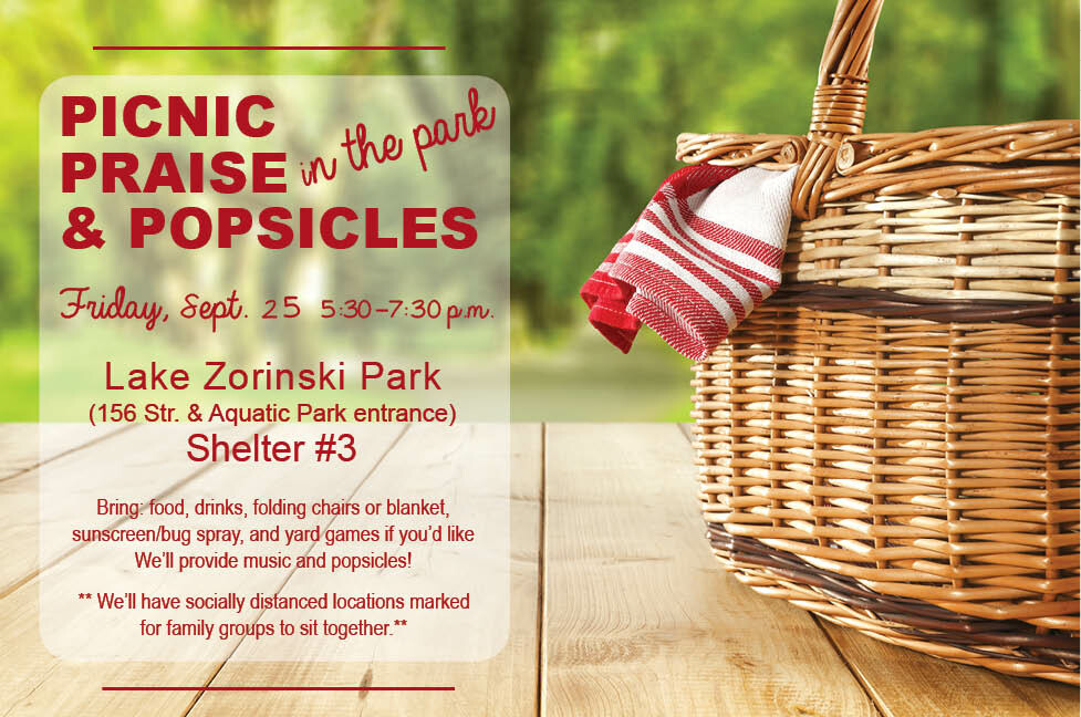 Picnic, Praise and Popsicles in the Park