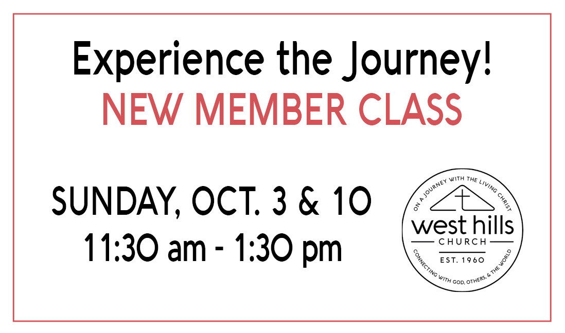 Experience the Journey! - New Member Class